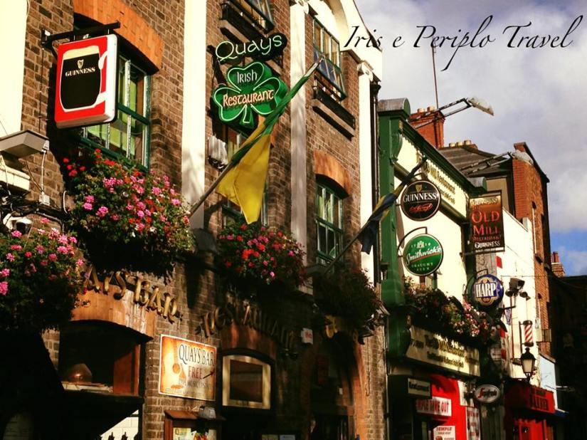 Itinerario di dublino. quays bar