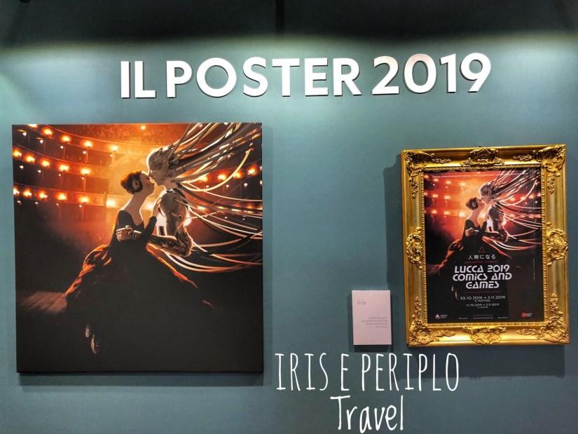 poster del lucca comics 2019