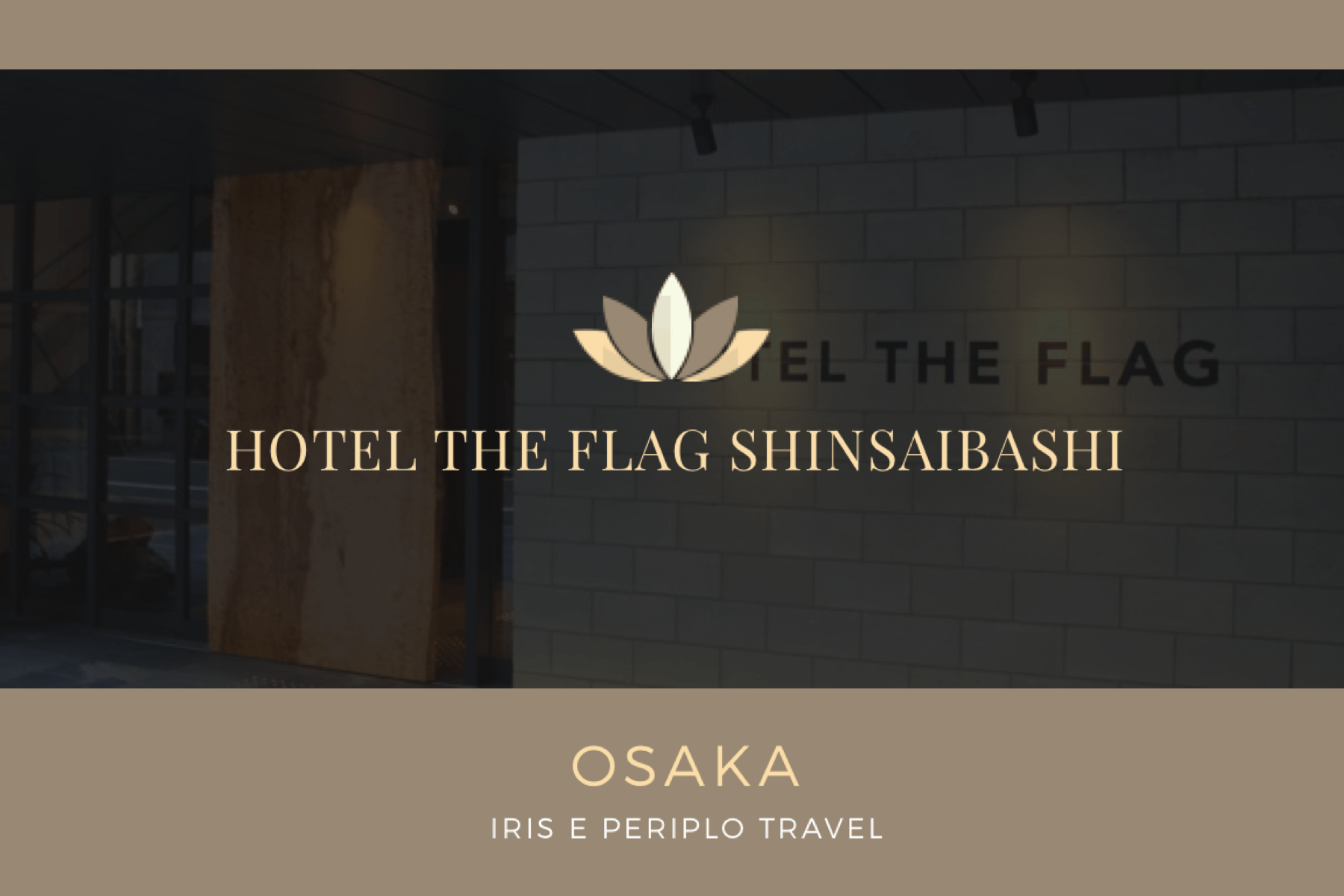 Hotel THE FLAG Shinsaibashi