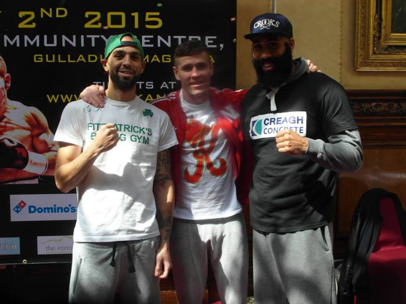 o'kane weigh in 18