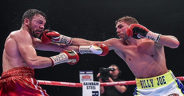 Lee lost a majority decision to Billy Joe Saunders on Saturday