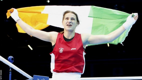 Olympic gold medalist Katie Taylor is one of the best female boxers in the world.