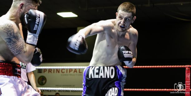 The Iceman impressed on his pro debut