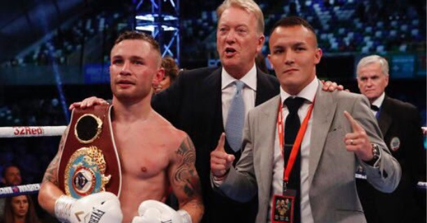 Frampton and Warrington will battle it out  live on BT Sports PPV