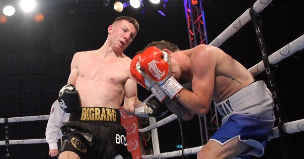 Late change of opponent for Pierce O'Leary