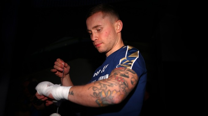Carl Frampton gives Fight Update