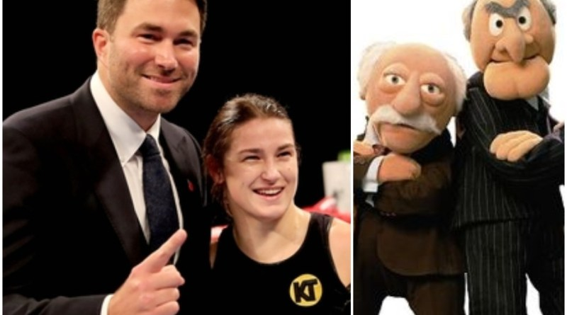 Moaning 'muppets' won't stop Eddie Hearn giving Katie Taylor the PPV platform she 'deserves'