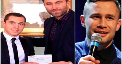 Carl Frampton explains initial reaction to Hearn and Quigg's infamous £1.5 million offer