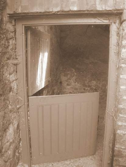 Open Half-door