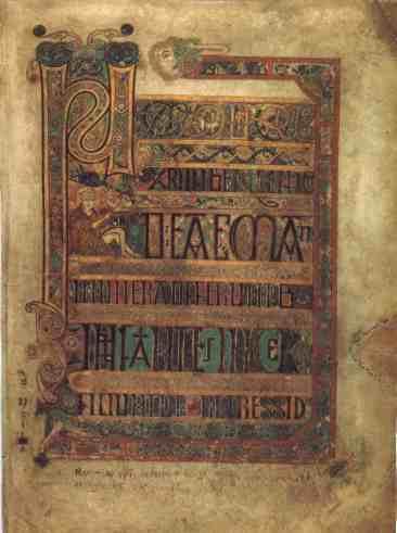 http://commons.wikimedia.org/wiki/File:KellsFol008rBrevCausMatt.jpg