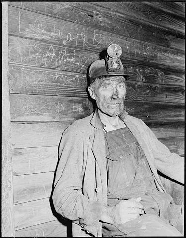http://commons.wikimedia.org/wiki/File:Blaine_Sergent,_coal_loader._P_V_%26_K_Coal_Company,_Clover_Gap_Mine,_Lejunior,_Harlan_County,_Kentucky._-_NARA_-_541378.jpg