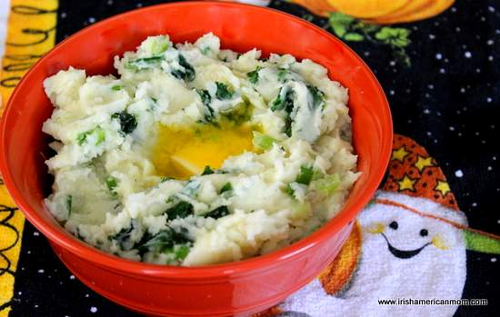 Colcannon for Halloween