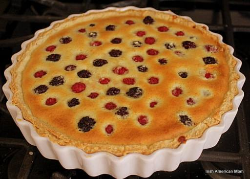 Berry Almond Tart
