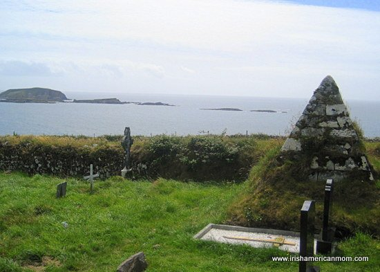 Graveyard at Myross, West Cork