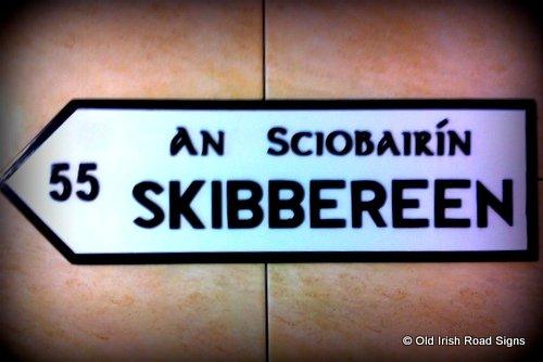 Irish Signpost - Skibbereen
