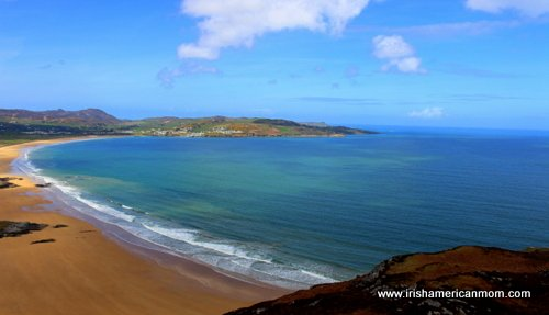 Sandy beach in Donegal
