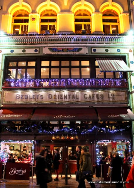 Bewley's Cafe at Christmas time