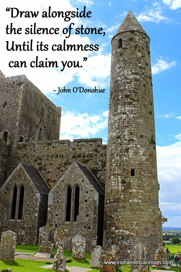 Draw alongside the silence of stone - John O'Donohue