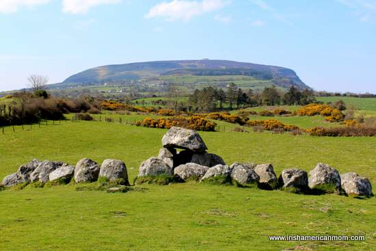 http://www.irishamericanmom.com/2015/04/29/knocknarea-and-queen-maeve-of-connacht/