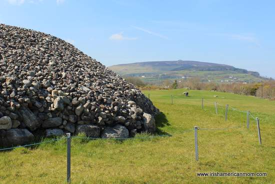 View of Knocknarea from Carrowmore Megalithic Tombs