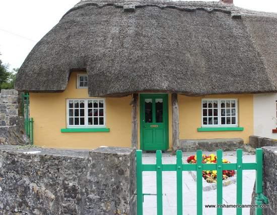 Irish Thatch Roof Cottage