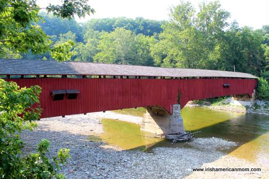 Covered Bridge in Indiana, USA