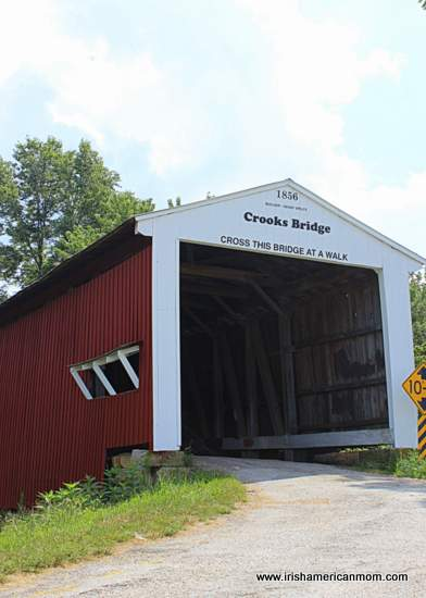 Crooks Bridge, Parke County, Indiana