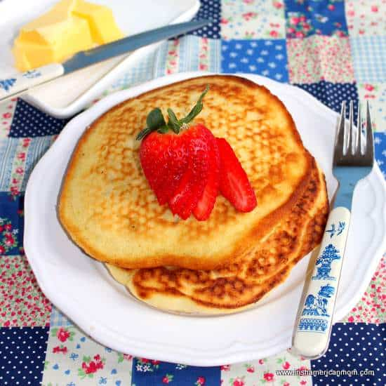 Irish Buttermilk Pancakes