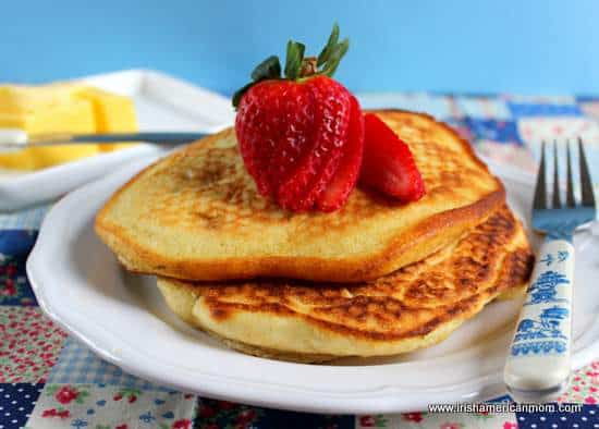 Pancakes with butter - large size