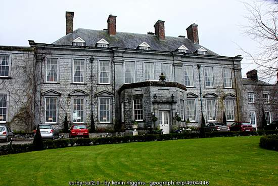 Durrow Castle Hotel in County Laois Ireland
