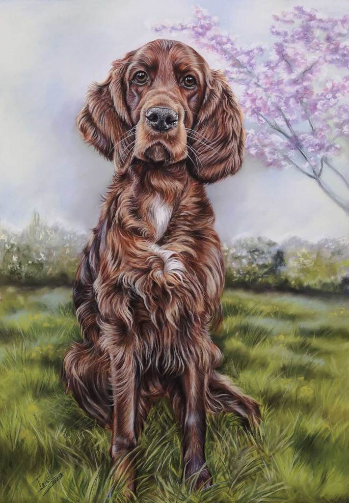 Fisher 400 Pastel Paper - Red Setter