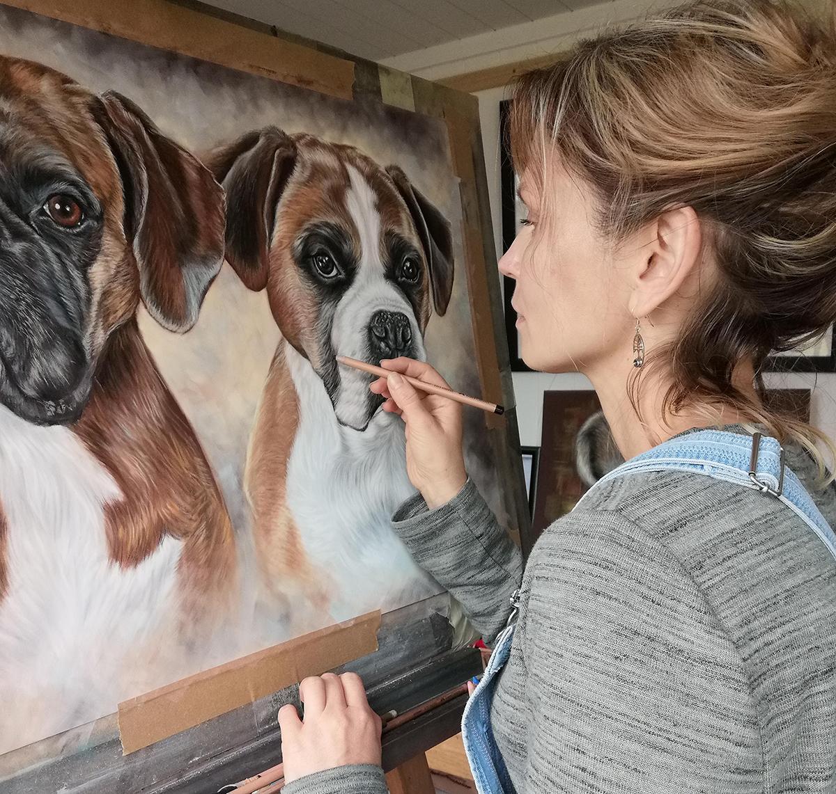 pet artist irisha uk