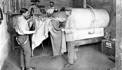 Disinfecting prisoners Limburg