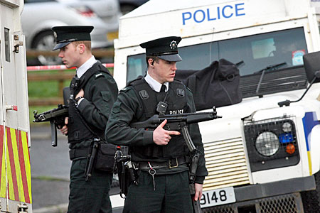 Police patrol threatened Catholic schools