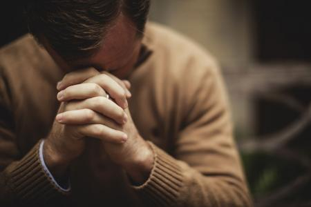 Praying so as not to lose heart