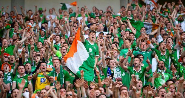 Irish fans 'melt hearts' of French at Euros