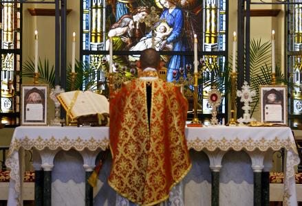 catholic mass in latin