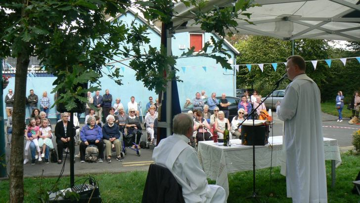 Mass on the Grass event helps integrate communities