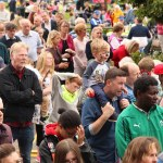Part of the crowd of over 4,000 people from the Diocese of Kildare & Leighlin who attended the Picnic in Punchestown on Sunday. Photos: John McElroy
