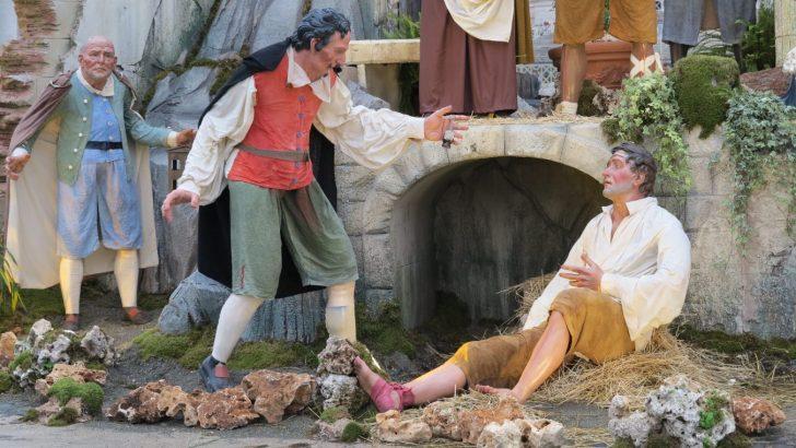 The weary world rejoices: nativity scenes bring joy to hardened hearts