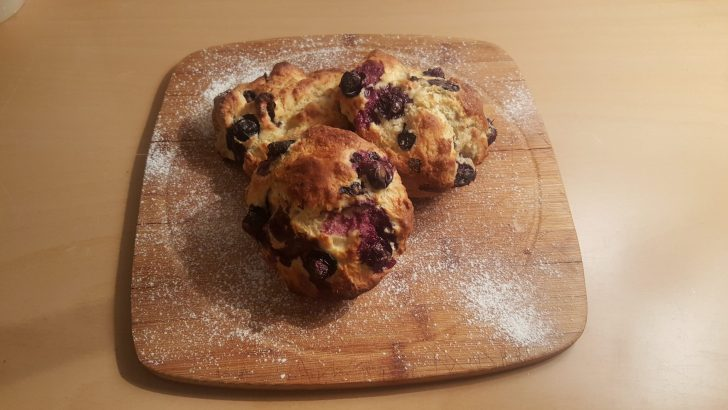 Perfect solution to the winter blues… scones!