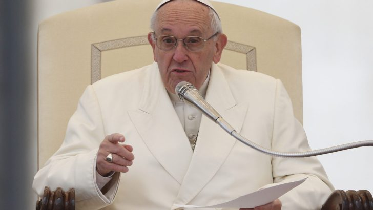 Liturgy is not a DIY place, says Pope
