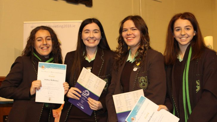 PJPII winners celebrate WMOF themed awards