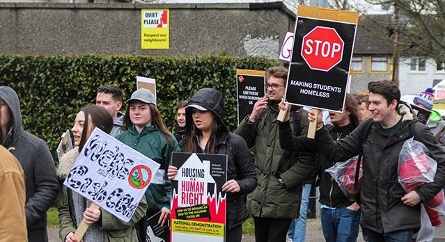 Uni chaplains voice support against 'Celtic tiger era' rents