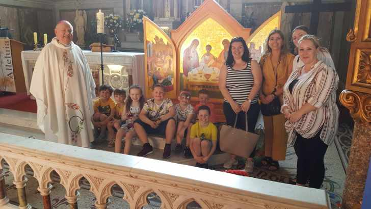 Hundreds attend Dublin parish's WMOF events
