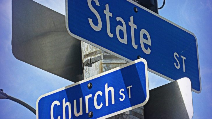 Church and State – it's time to break the institutional ties