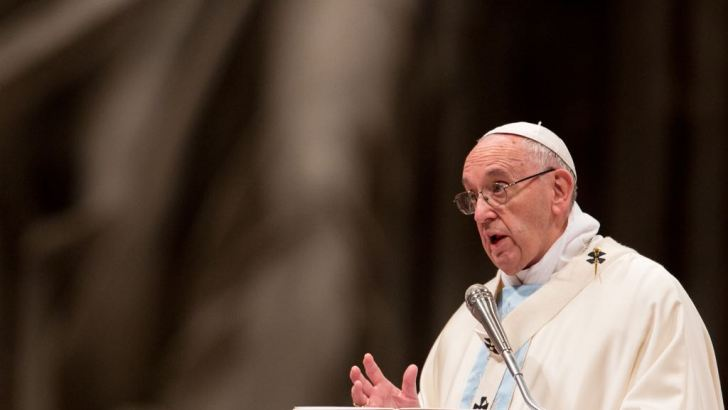 God's wrath is just as great as his mercy, warns Pope