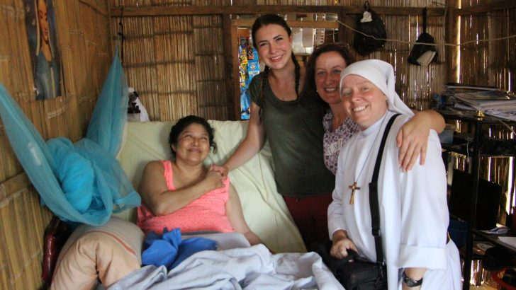 With God and Mary in Ecuador