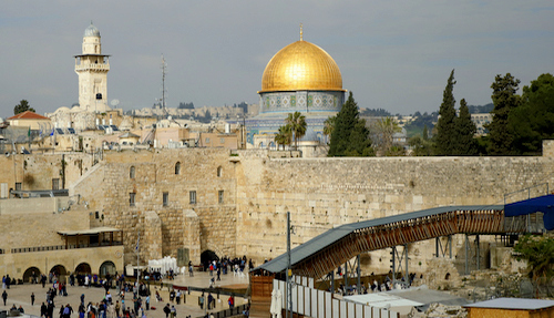 Visiting the 'living stones' of the Holy Land