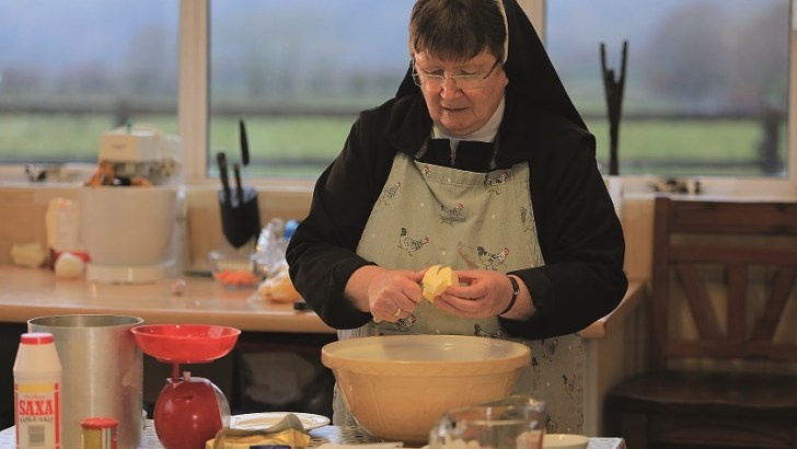 Domestic cooking, Kylemore Convent style